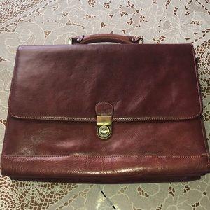 Genuine Leather Top Grain America Briefcase